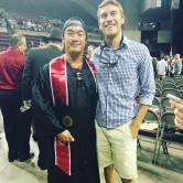 Our first Alumni Ryan Dang! - May 2016