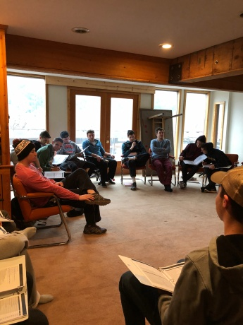 Brotherhood retreat Marble Colorado - November 2017