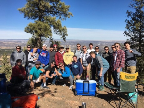 Brotherhood retreat Old Stage Road - March 2017