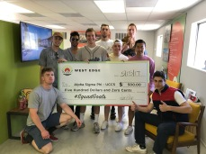 Us receiving $500 for West Edge Student apartments