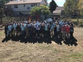 BBQ for our first annual parents weekend - October 2017
