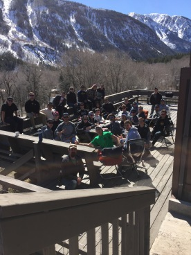 Brothers in Marble Colorado for a new member retreat - November 2017