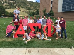 Brotherhood picture at a recruitment event - August 2016