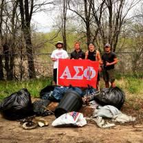 Clean the stream - April 2015