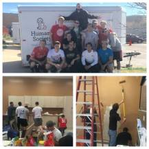 Helping out the Humane Society! - April 2015