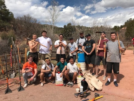 Community service trail restoration - April 2017