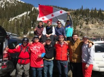 Brotherhood retreat Arapaho Basin Colorado - April 2017