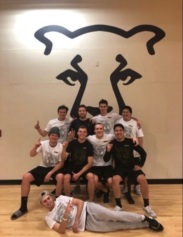 Our intramural floor hockey team taking the win in the championship 2 years in a row! - December 2017