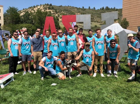 Rush event West Lawn