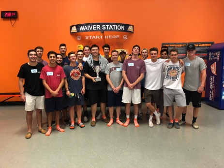 Sky Zone brotherhood event